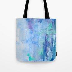 Watercolor Blue Tote Bag