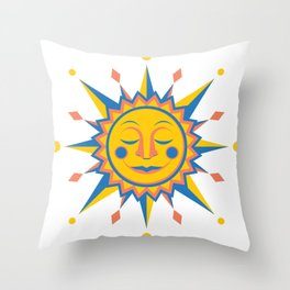 Summer's Joy Throw Pillow