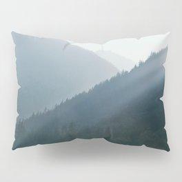 Hazy Days in Mountain Ranges Pillow Sham