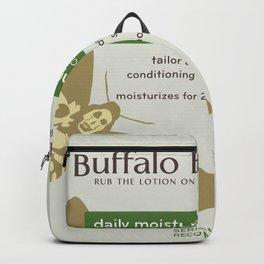 Buffalo Bil's Body Lotion Backpack