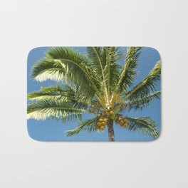 Hawaiian Coconut Palm Tree Bath Mat
