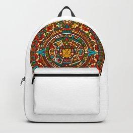 Aztec Mythology Calendar Backpack