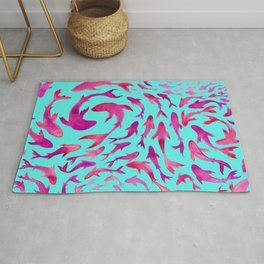 Moving in Unison Rug
