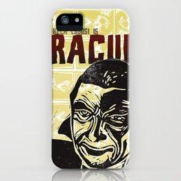 Bela Lugosi s Dracula Fan Art iPhone Case