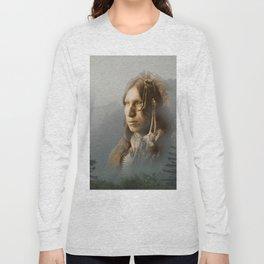 Peter Iron Shell, Sioux Indian Long Sleeve T-shirt