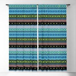 Together Again - tribal geometrics Blackout Curtain