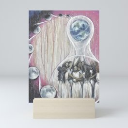 The World - Tarot Card Art Mini Art Print