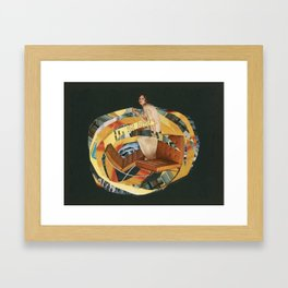 Particle or a wave Framed Art Print