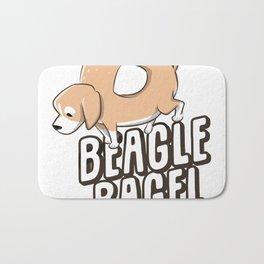 Beagle Bagel Bath Mat
