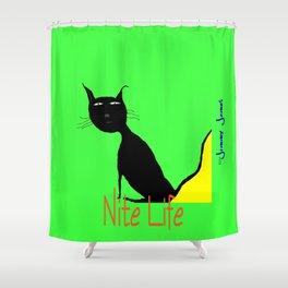 Nite Life Shower Curtain
