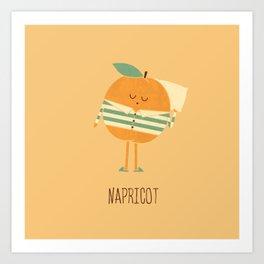 Napricot Art Print