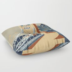 Tower Bridge Floor Pillow