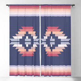 Graphic Pattern One Blackout Curtain