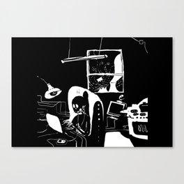 Nuclear home Canvas Print