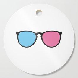 Glasses Cutting Board