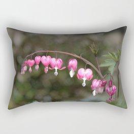 Bleeding Heart Rectangular Pillow