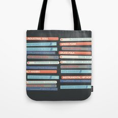 Music Snob Tote Bag