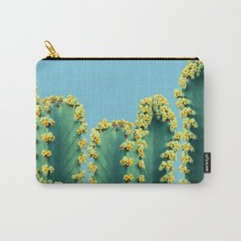 Adorned Cactus || #society6 #buyart #decor Carry-All Pouch