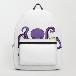 octopus drummer Drum Player Son Daughter gift Backpack