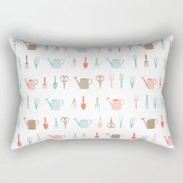 AFE Gardening Tools Pattern Rectangular Pillow