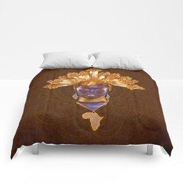 Golden Africa Comforters
