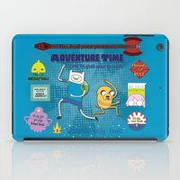 finn and jake iPad Cases featuring Finn and Jake by ichigomomo