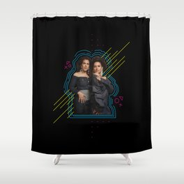 Yas Queens. Shower Curtain