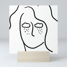 rainy soul Mini Art Print