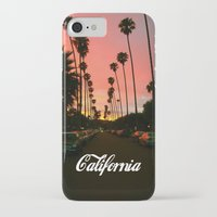 california iPhone & iPod Cases featuring California by Tumblr Fashion