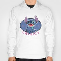 ohana Hoodies featuring Ohana by Une Belle Pagaille