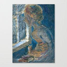 Shiver Canvas Print