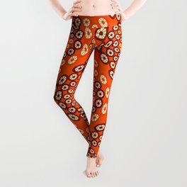 Geometric imitating floral Leggings