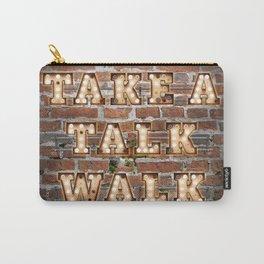 Take a Talk Walk - Brick Carry-All Pouch