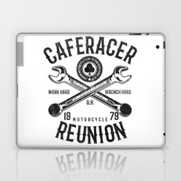 Cafe Racer Reunion Vintage Tools Poster Laptop & iPad Skin