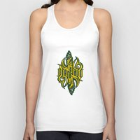 warcraft Tank Tops featuring Angel 3K ambigram by LoneLeon