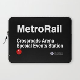 Crossroads Arena Special Events Station Laptop Sleeve