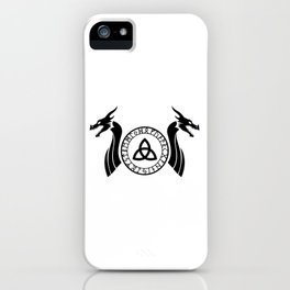 Norse Dragon - Celtic Knot iPhone Case