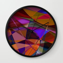 Abstract #376 Wall Clock