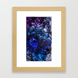 She Dreams at Night Framed Art Print
