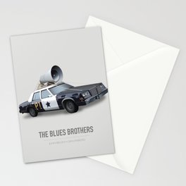 The Blues Brothers - Alternative Movie Poster Stationery Cards