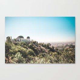Observatory Views Canvas Print