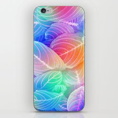 RAINBOW LEAVES iPhone & iPod Skin