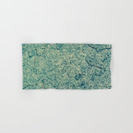 Cracking Blue Hand & Bath Towel