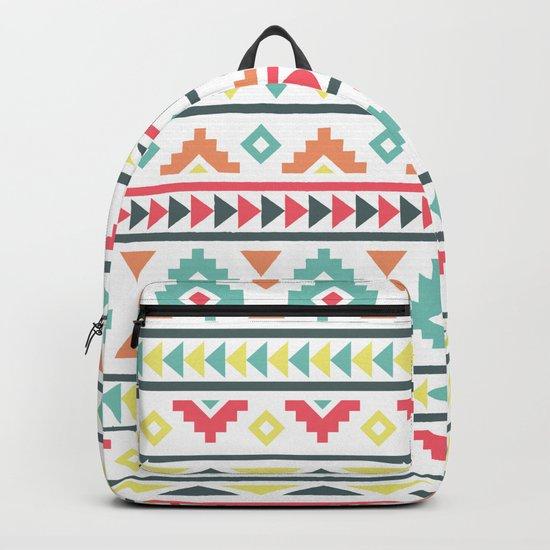 Aztec Pattern Backpack