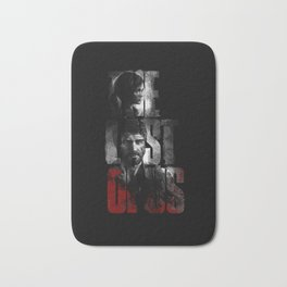 The Last of Us - black blood edition Bath Mat