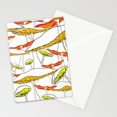 forest of the magic mushrooms Stationery Cards