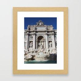 Fontana di Trevi Rome Italy Framed Art Print