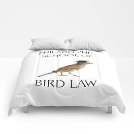 Philadelphia School of Bird Law Comforters
