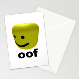 Roblox Oof - Roblox Stationery Cards