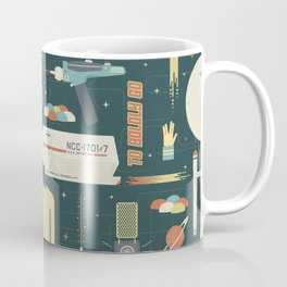 To Boldly Go... Coffee Mug